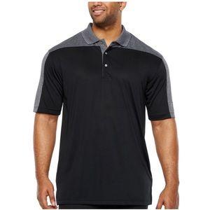 PGA TOUR Short Sleeve Polo Shirt Big and Tall